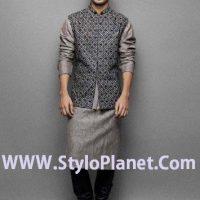 Latest Men Mehndi Dresses Shalwar Kameez and Kurta Designs 2017-2018 (15)