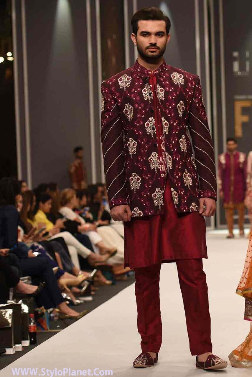 Mehndi Dresses Shalwar Kameez For Girls : Groom mehndi dresses designs and styles stylo planet