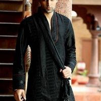 Latest Men Mehndi Dresses Shalwar Kameez and Kurta Designs 2017-2018 (3)