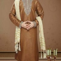 Latest Men Mehndi Dresses Shalwar Kameez and Kurta Designs 2017-2018 (8)