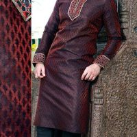 Latest Men Mehndi Dresses Shalwar Kameez and Kurta Designs 2017-2018 (9)