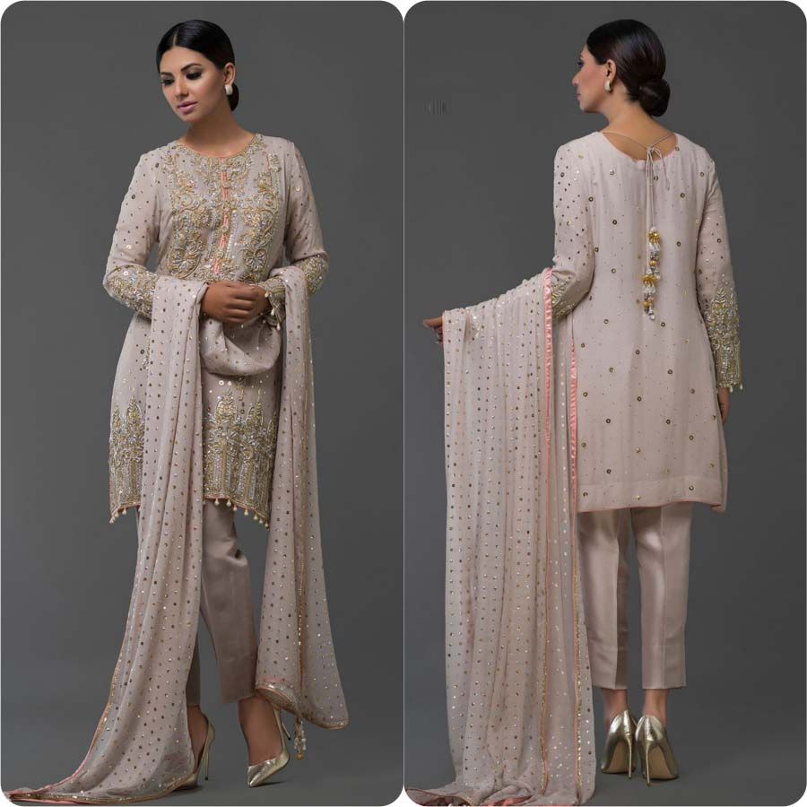 bf8b9c5c50 Latest Party Wear Dresses by Nomi Ansari 2017 | Stylo Planet