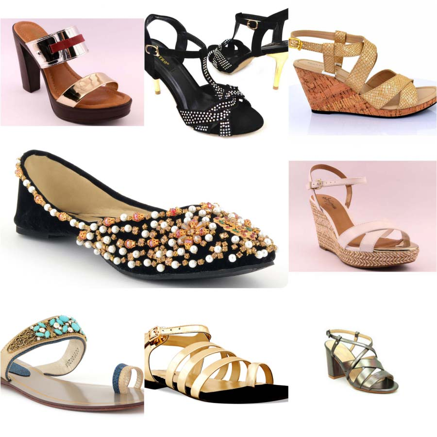 Pakistani Brands Latest Women Eid Shoes
