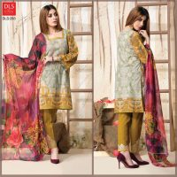 DLS Din LifeStyle Premium Winter Cambric Dresses Collection 2017-2018 (6)