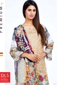DLS Din LifeStyle Winter Cambric Kurtis Collection 2017-2018 (1)
