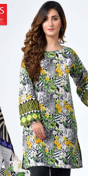 DLS Din LifeStyle Winter Cambric Kurtis Collection 2017-2018 (2)