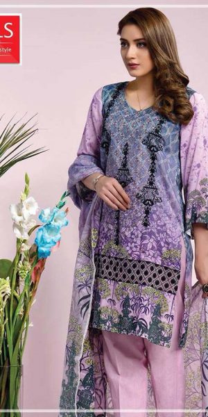DLS Din LifeStyle Winter Cambric Kurtis Collection 2017-2018 (5)
