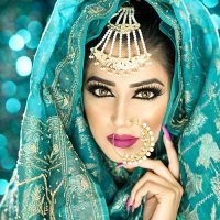Latest Best Arabic Bridal Makeup Tips & Ideas With Complete Guideline (1)