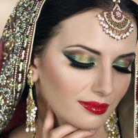 Latest Best Arabic Bridal Makeup Tips & Ideas With Complete Guideline (11)