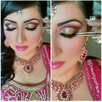 Latest Best Arabic Bridal Makeup Tips & Ideas With Complete Guideline (23)
