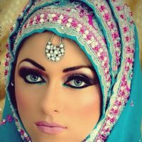 Latest Best Arabic Bridal Makeup Tips & Ideas With Complete Guideline (25)