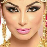 Latest Best Arabic Bridal Makeup Tips & Ideas With Complete Guideline (31)