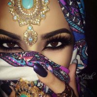 Latest Best Arabic Bridal Makeup Tips & Ideas With Complete Guideline (34)