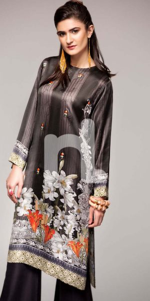 Nishat Linen Winter Stitched Shirts Collection 2017 (5)
