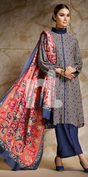 Nishat Linen Winter Stitched & Unstitched Collection 2017-18 for Women (13)
