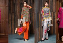 Nishat Linen Winter Prints