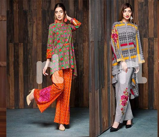 Nishat Linen Winter Prints