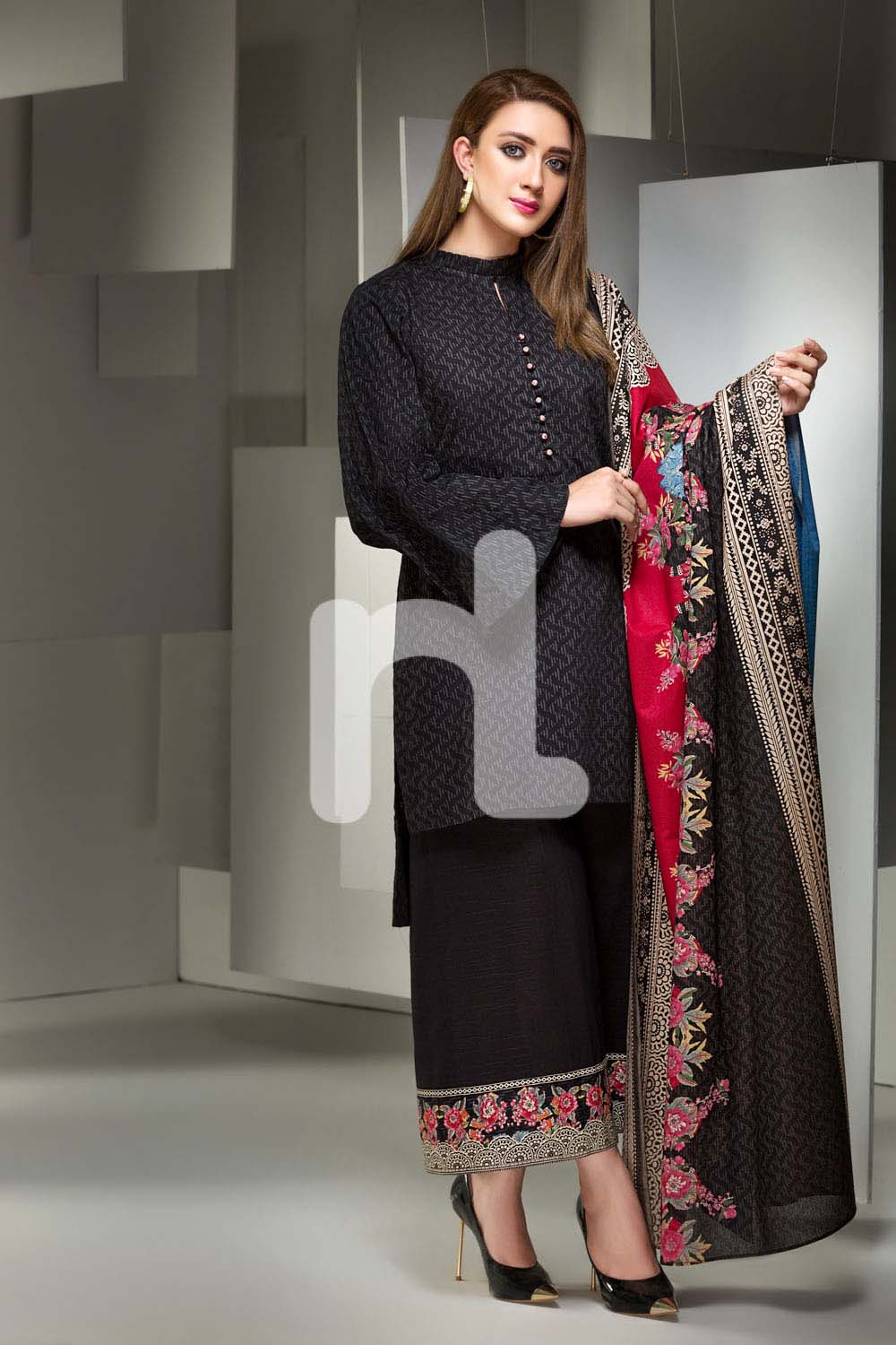 Nishat Linen Winter Stitched & Unstitched Collection 2017-18 for Women