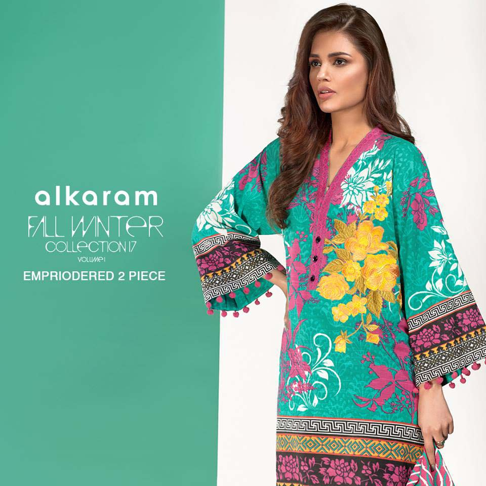 a736088901 Two Piece Embroidered Collection. Alkaram Studio Fall Winter Women  Collection 2018-18 Complete Catalog