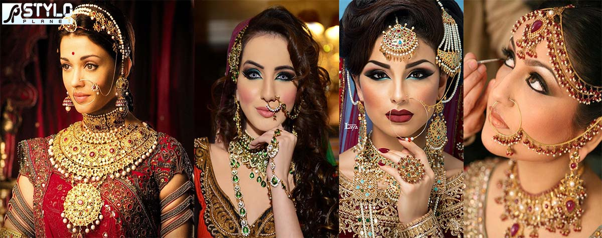 Latest Bridal Nose Rings Styles and Designs   Stylo Planet