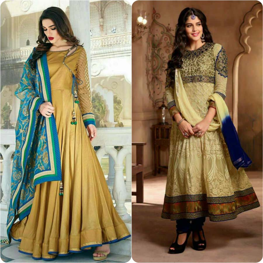 2a8dcadedc ... of this beautiful outfit, we have get our hands with latest and more  trendy anarkali frocks and suits paired with churidar pajamas, stoles and  duapptas.