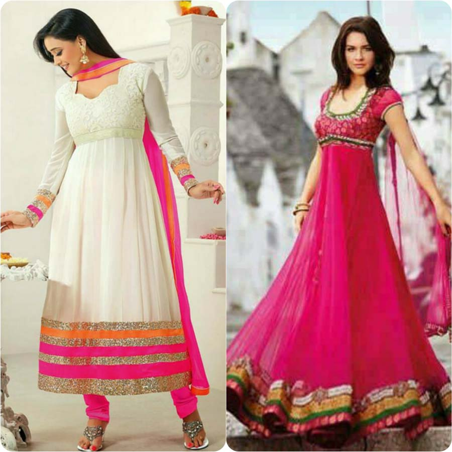 Latest Anarkali Frocks Collection For Women 2018 Stylo