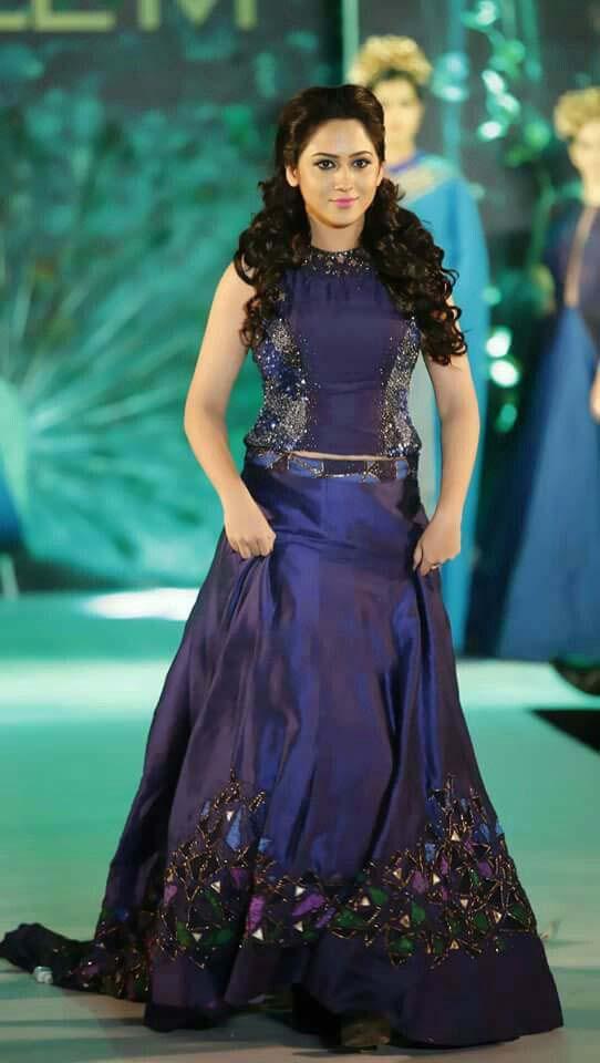 Latest Asian Bridal Crop Top Lehenga Designs