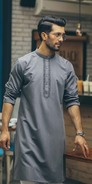 Edenrobe Spring Summer Collection for Men 2018-2019 Kurtas Collection (15)
