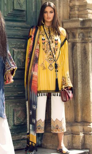 Elan Spring Summer Designers Dresses Collection 2018-2019 (20)