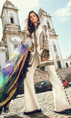 Elan Spring Summer Designers Dresses Collection 2018-2019 (7)