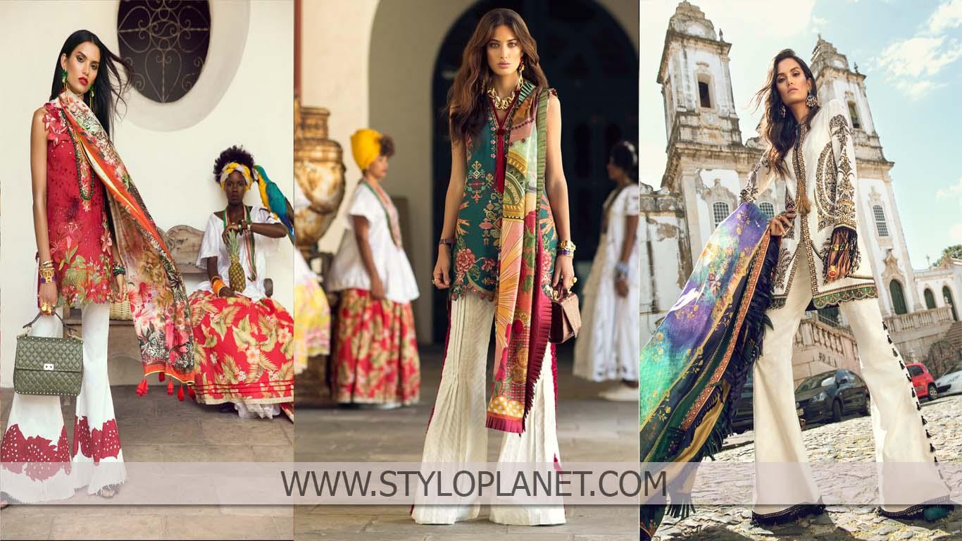 Elan Spring Summer Designers Dresses Collection 2018-2019