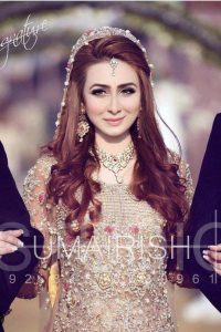 Latet Pakistani Bridals Hairstyle Ideas & Jwelery Designs 2018-2019 (10)