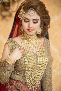 Latet Pakistani Bridals Hairstyle Ideas & Jwelery Designs 2018-2019 (12)