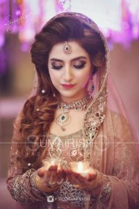 Latet Pakistani Bridals Hairstyle Ideas & Jwelery Designs 2018-2019 (13)