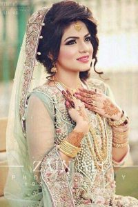 Latet Pakistani Bridals Hairstyle Ideas & Jwelery Designs 2018-2019