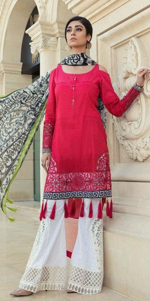 Maria.B Latest Summer Lawn Collection 2018-2019 Complete Catalogue (11)