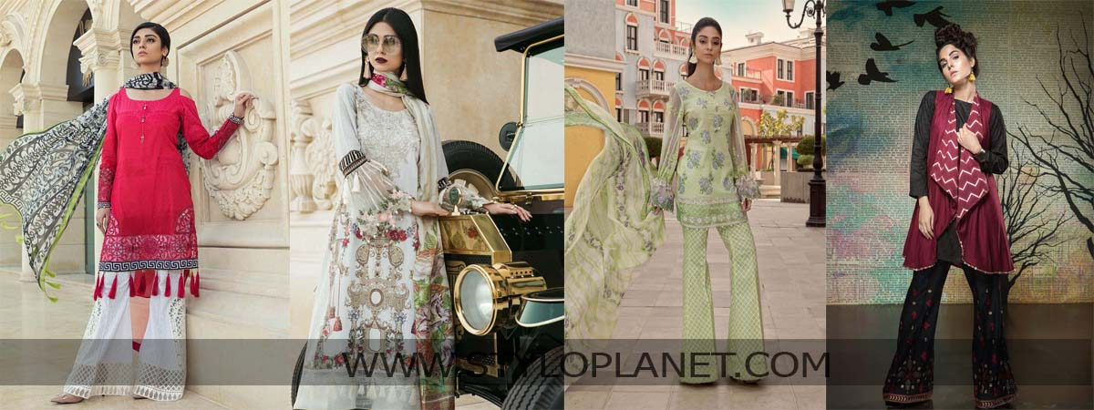 Mariab Summer Lawn Collection For Women 2018 Stylo Planet