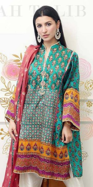 Farah Talib Aziz Summer Lawn Collection 2018 (2)