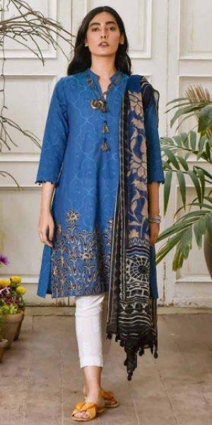 Khaadi Best designers Eid Lawn Dresses 2018 (1)