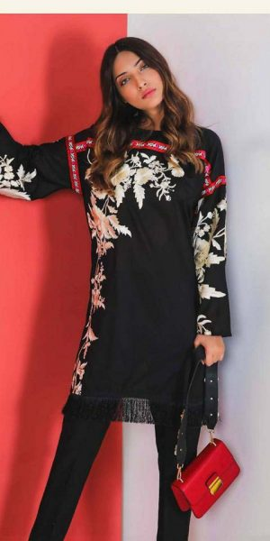 Sana Sfinaz Best designers Eid Lawn Dresses 2018