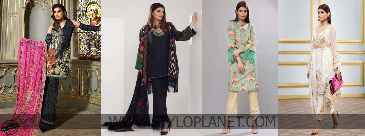 Top 10 Designers Summer Festive Eid Dresses Collection 2018-2019 To Buy This Year