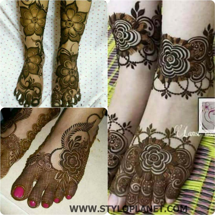 Beautiful Mehndi Designs For Asian Brides 2018 Stylo Planet