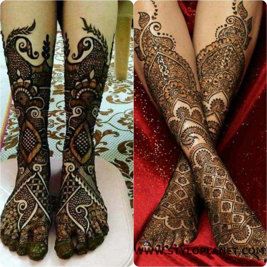 Pretty Henna Designs: Fabulous Latest Bridal Mehndi Designs For Hands And Feet