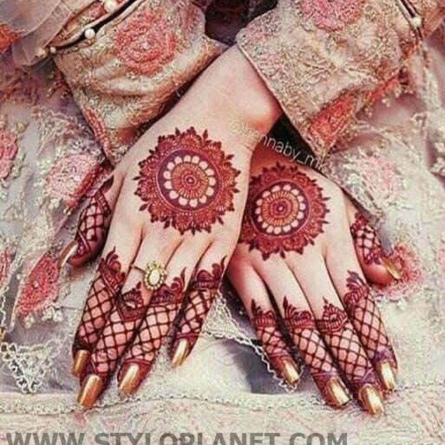 Latest Mehndi Designs For Hands 2018 (14)