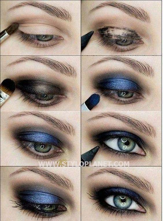 Smokey Eyes Makeup Looks And Complete Tutorial Stylo Planet