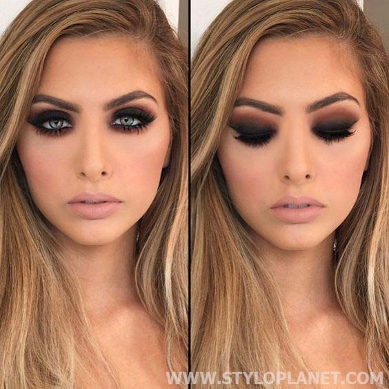 Smokey Eyes Makeup Looks and Complete Tutorial