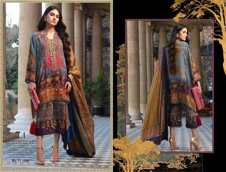 Silk Chiffon Dresses by Sana Safinaz