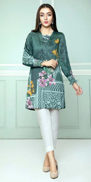 CROSS STITCH WINTER COTTON SATIN EMBROIDERED COLLECTION 2018-2019 (13)