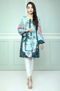CROSS STITCH WINTER COTTON SATIN EMBROIDERED COLLECTION 2018-2019 (9)
