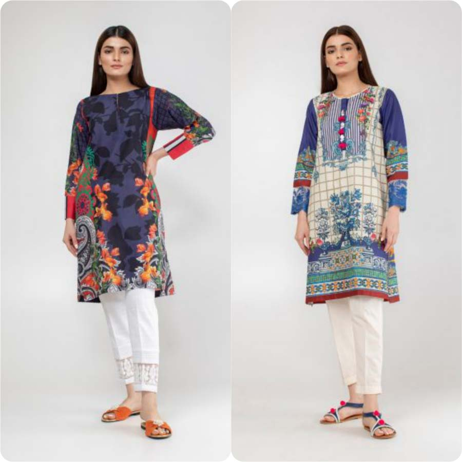 9611aefd2f The Khaadi Ready To Wear Summer Lawn Collection contains pret kurtas made  up of high quality lawn and cotton stuff. This Pret category exhibits a  bright yet ...